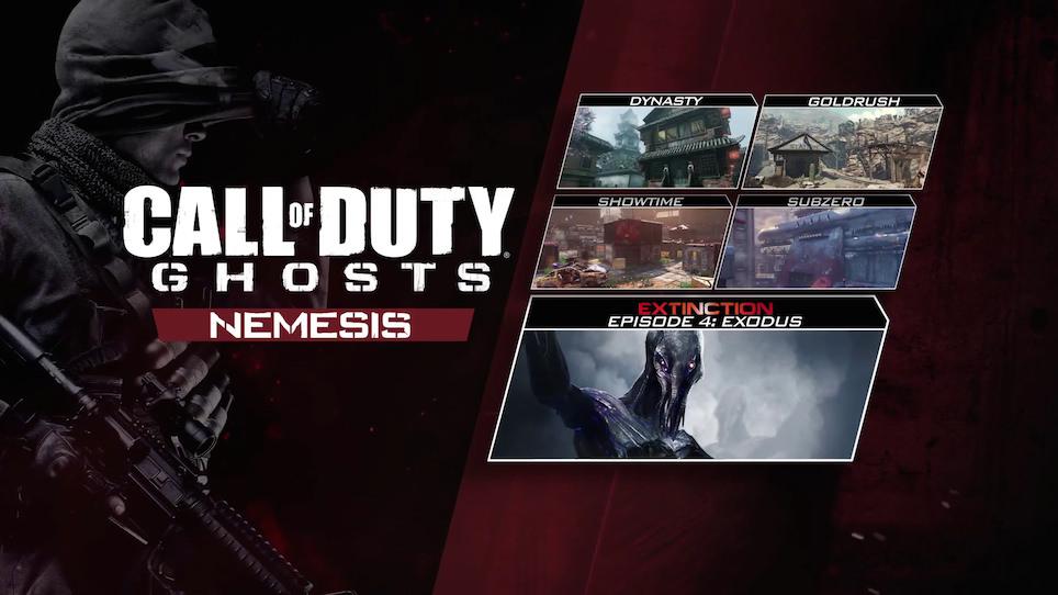 "Call of Duty: Ghosts – Alle Map-Trailer zum ""Nemesis"" DLC – Dlc Maps Ghosts on"